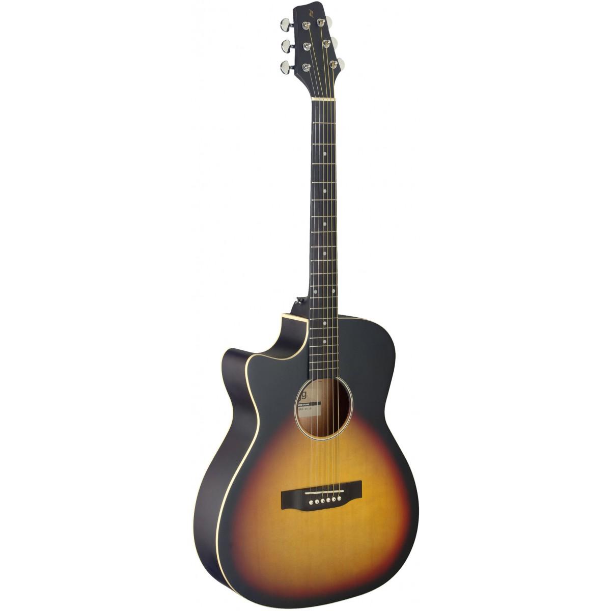 Stagg SA35 ACE-VS LH, elektroakustická kytara levoruká