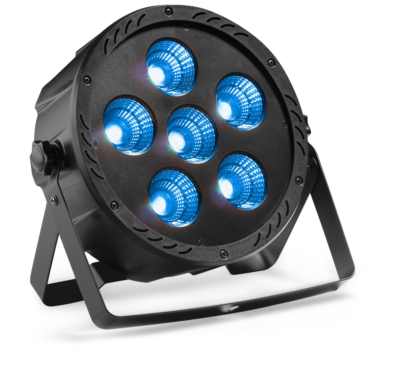 Stagg SLI-ECOP63041-2, ECO PAR 6, 6x 30W QCL LED