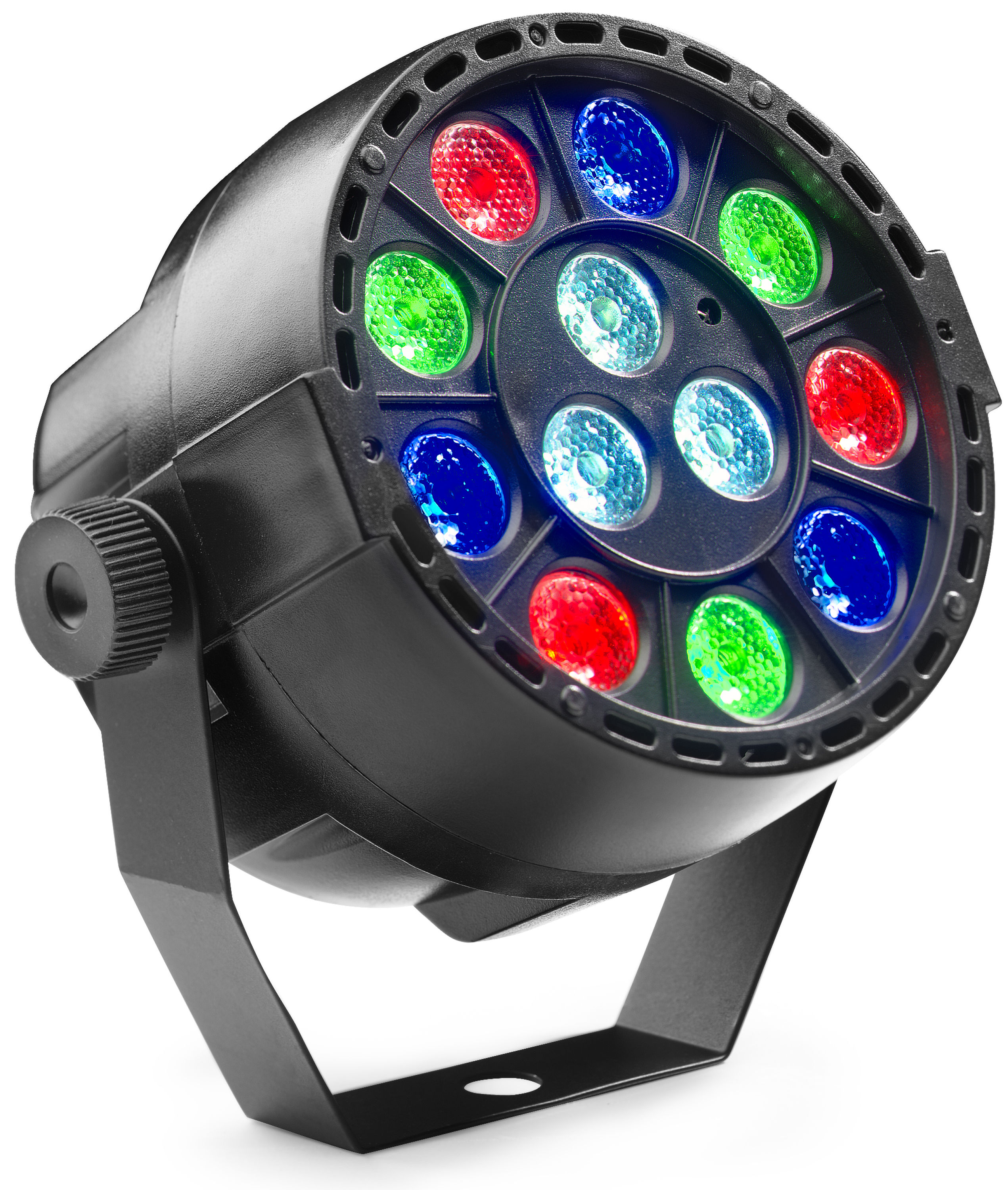 Stagg SLI-BAT XS-2, ECO PAR 4x 8W HCL LED, AKKU