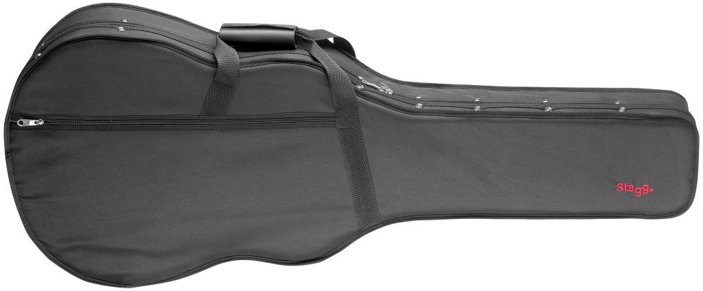 Stagg HGB3-D, lehký kufr pro westernovou kytaru