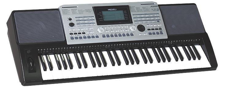 Medeli A800, klávesy