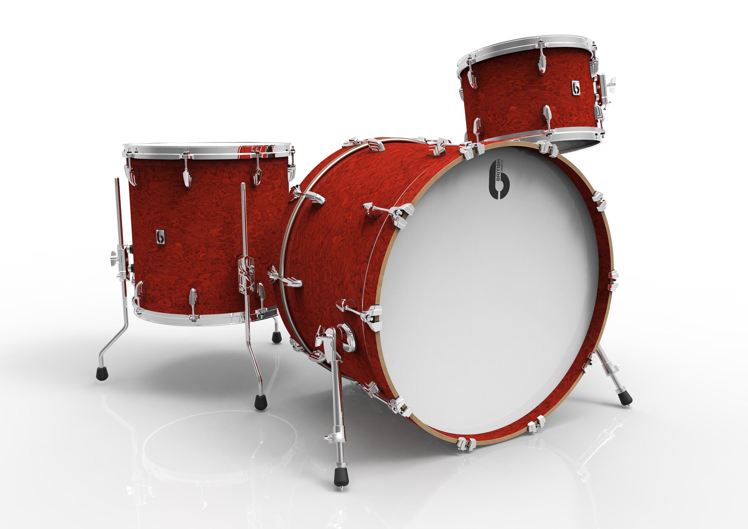 BDC Legend Club Kit 18 BS, bicí sada