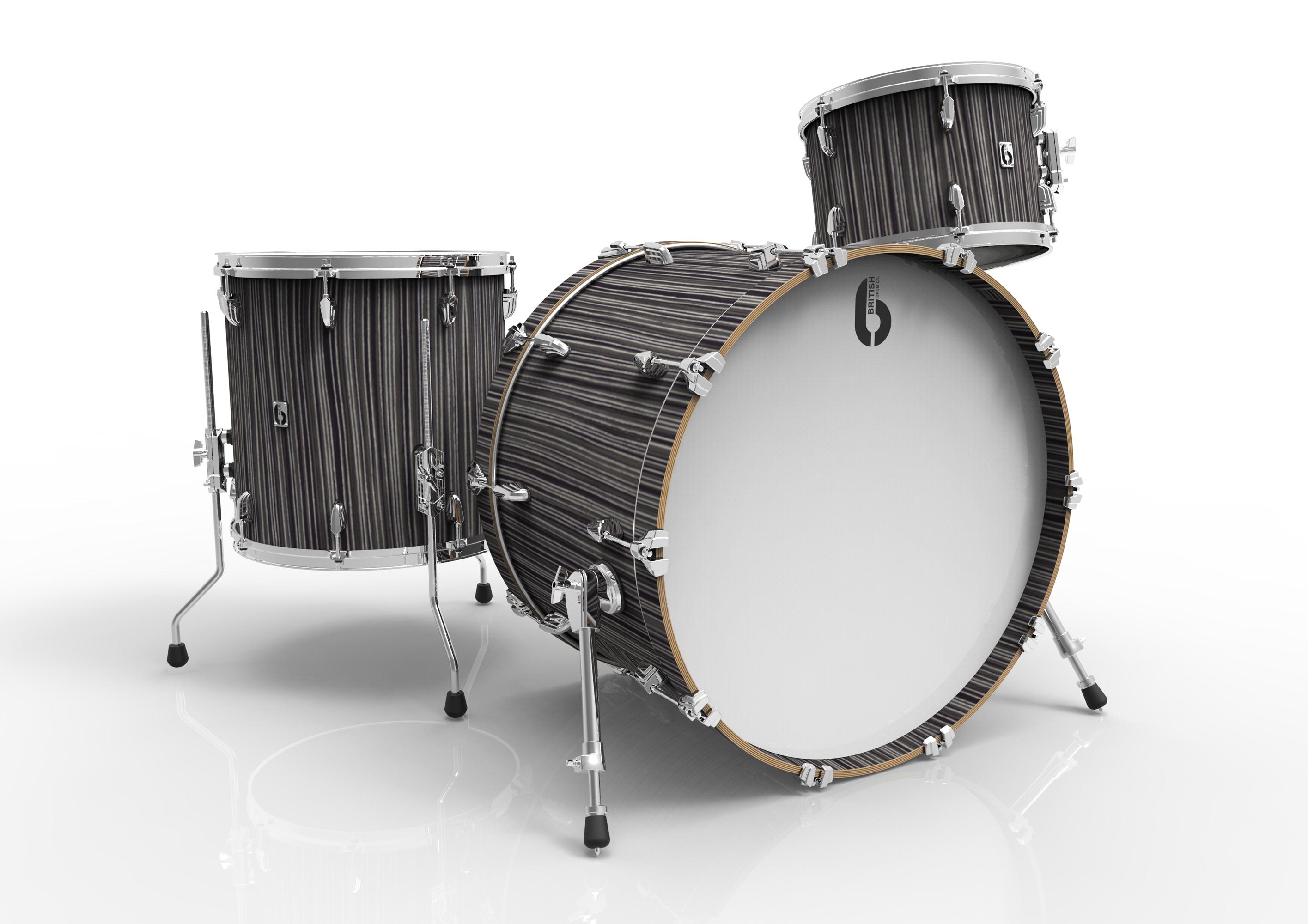 BDC Legend Club Kit 18 CS, bicí sada