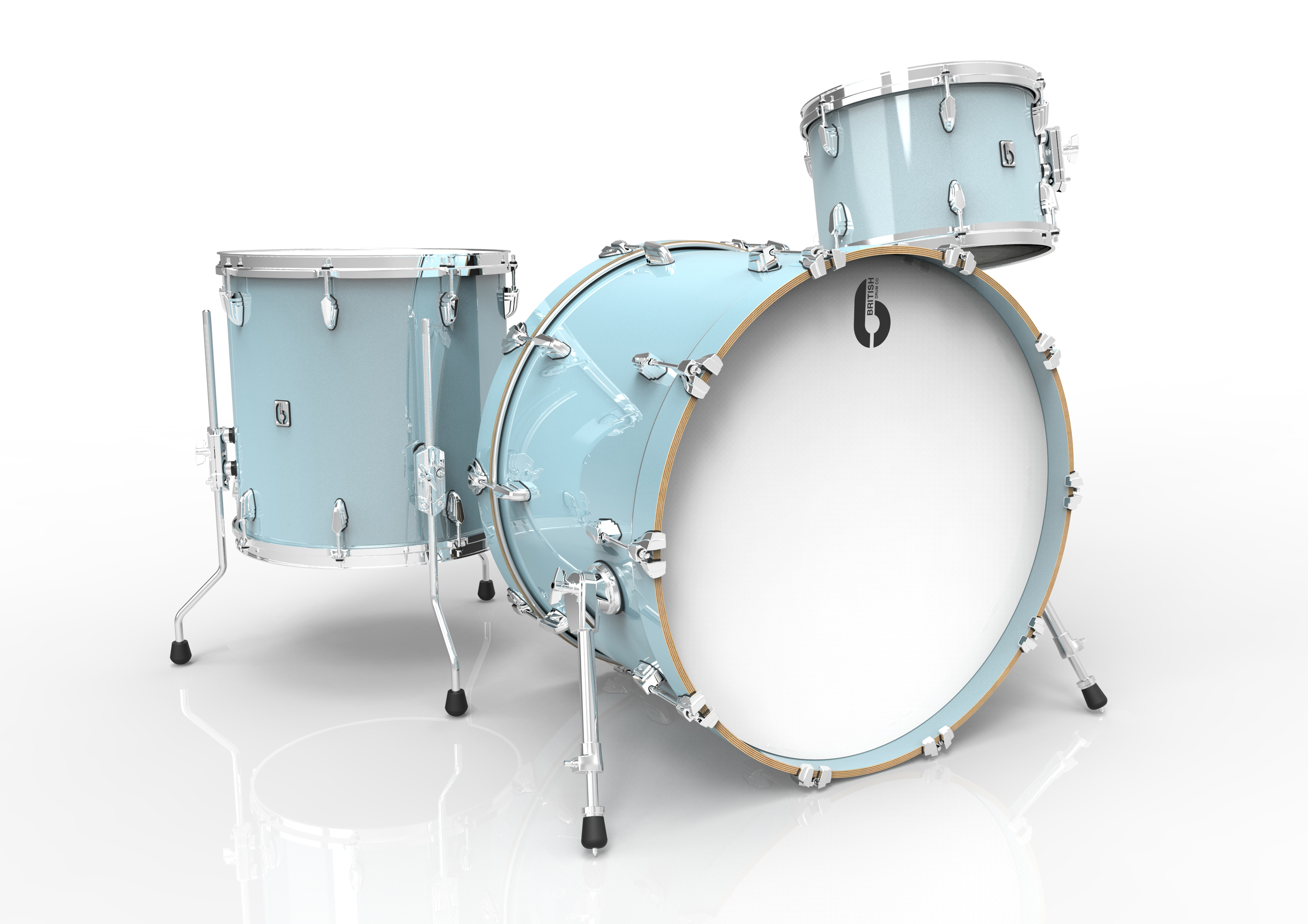 BDC Legend Club Kit 18 SB, bicí sada