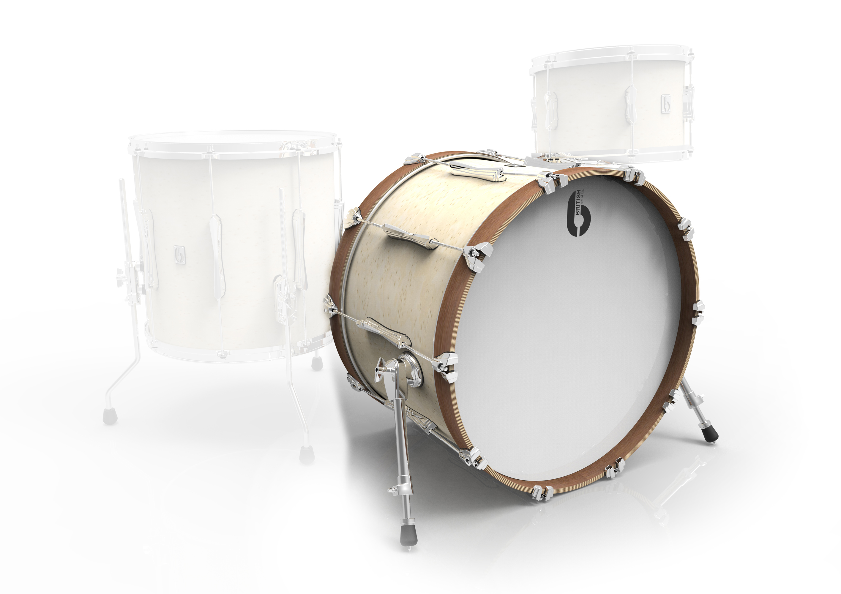 BDC Lounge Bass Drum 22x 14