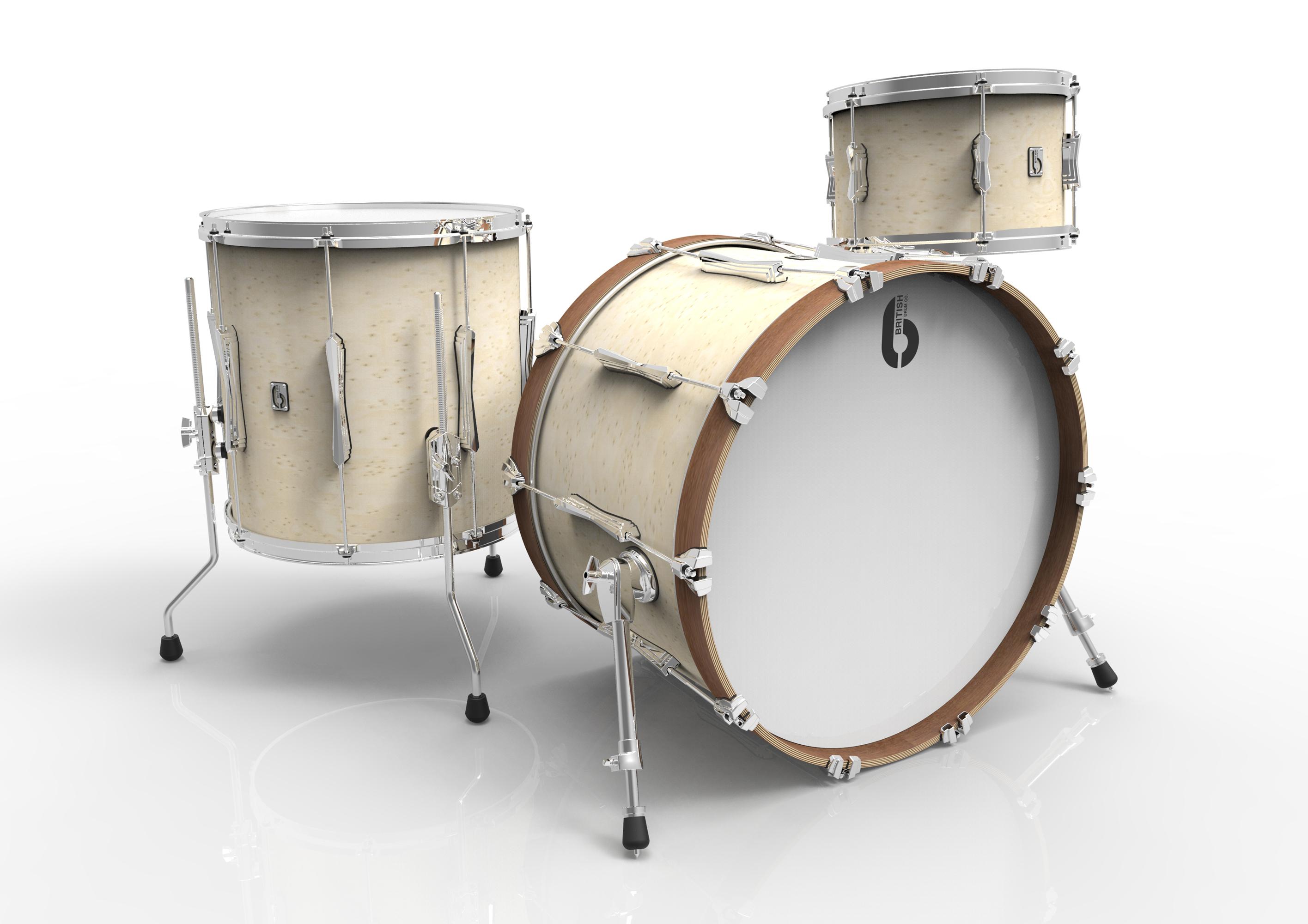 BDC Lounge Club Kit 20 WW, bicí sada