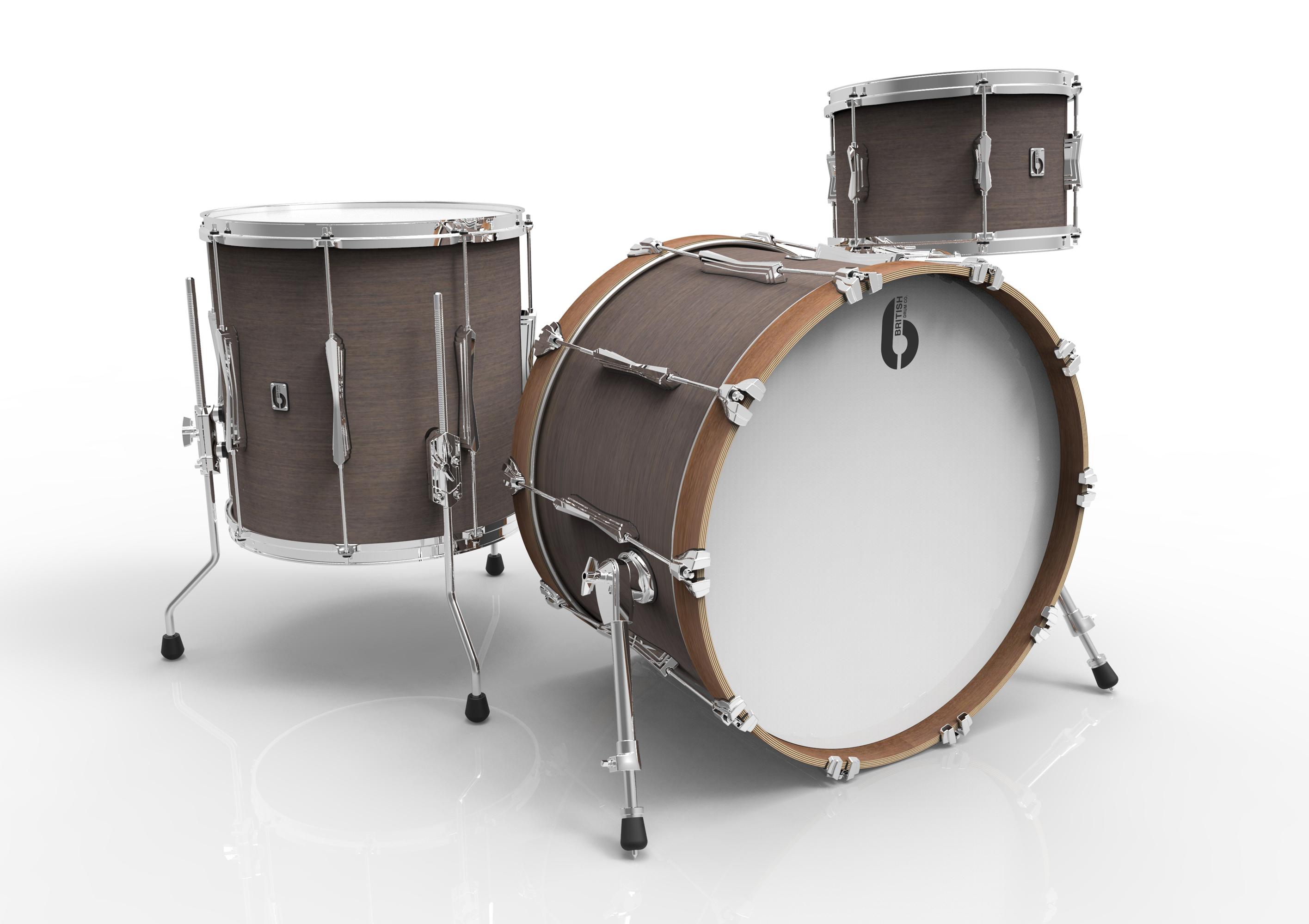 BDC Lounge Club Kit 22 KC, bicí sada