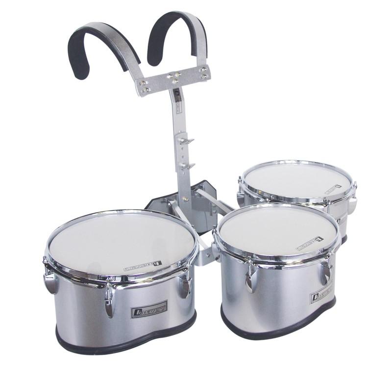 Dimavery MT-330 set pochodových bubnů, stříbrný