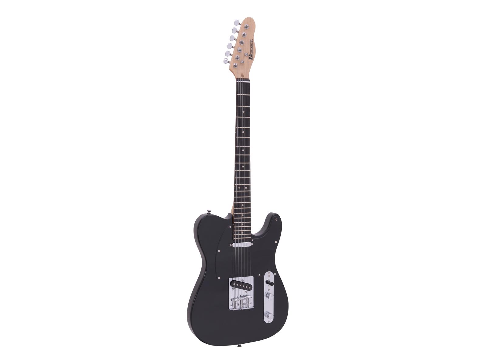 Dimavery TL-401, elektrická kytara, černá
