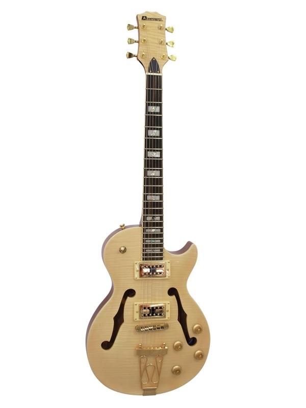 Dimavery LP-600 elektrická kytara, přírodní javor