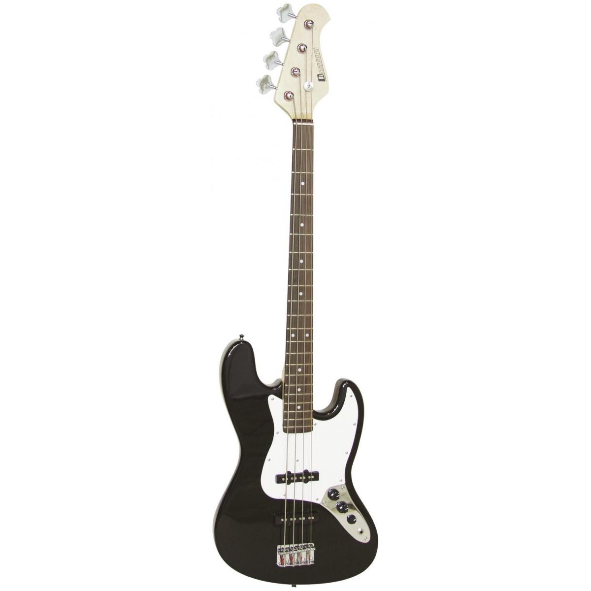 Dimavery JB-302, baskytara elektrická, černá