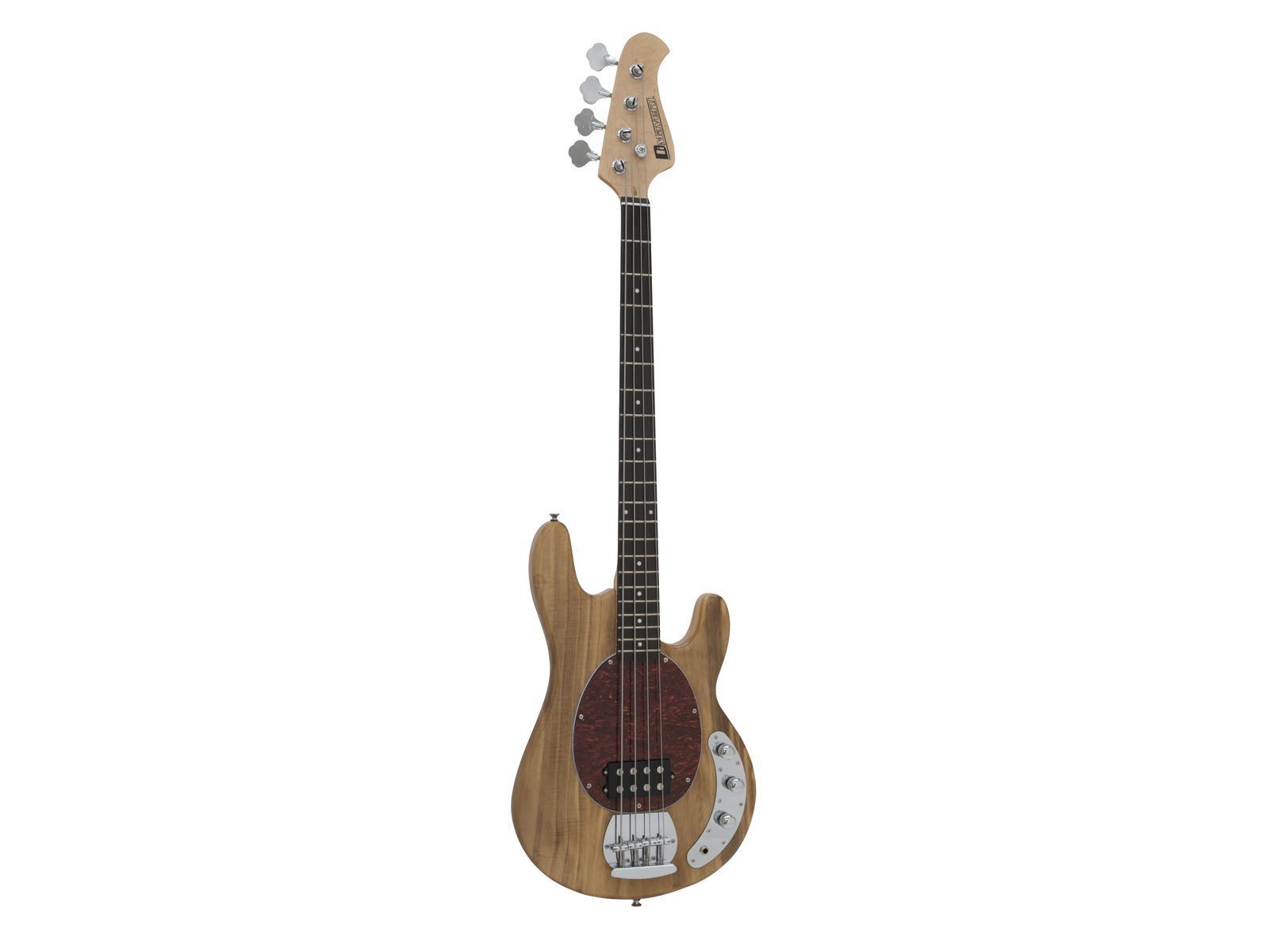 Dimavery MM-501, baskytara elektrická, přírodní