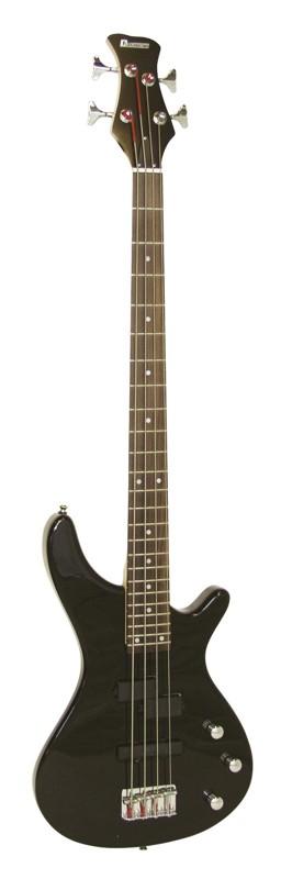 Dimavery SB-321, baskytara elektrická, černá