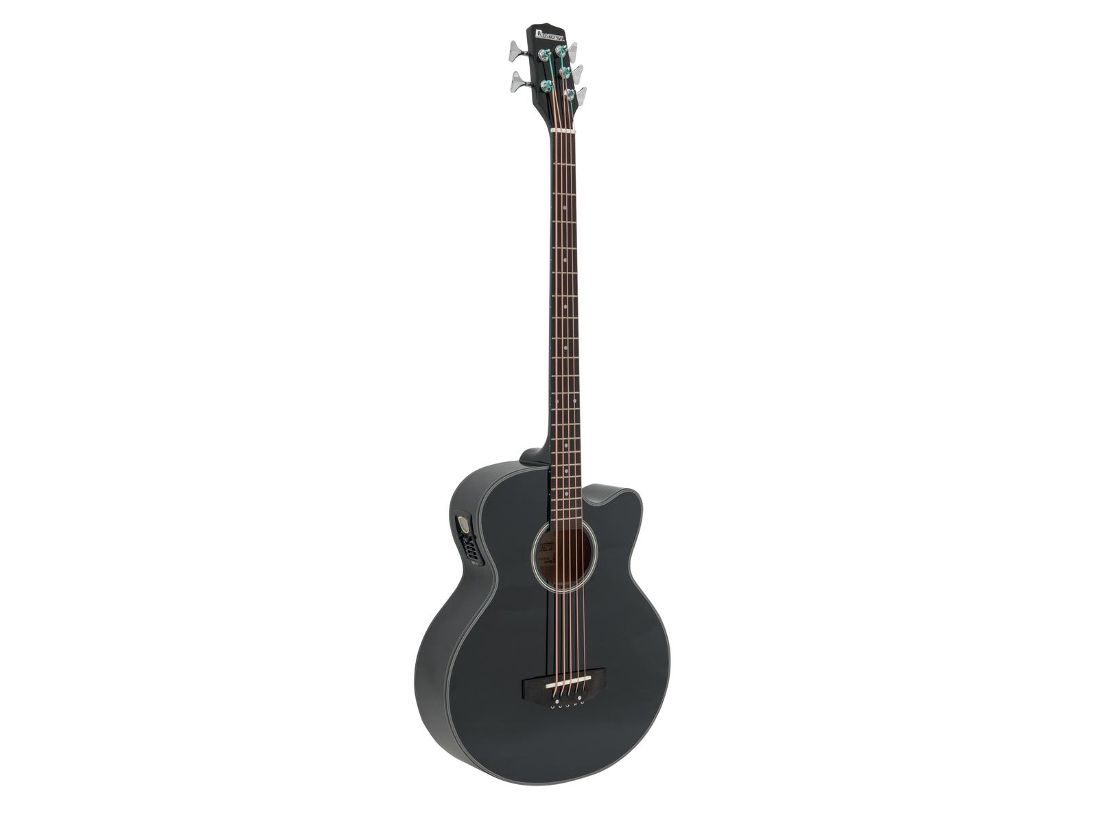 Dimavery AB-455, elektroakustická baskytara, pětistrunná, černá