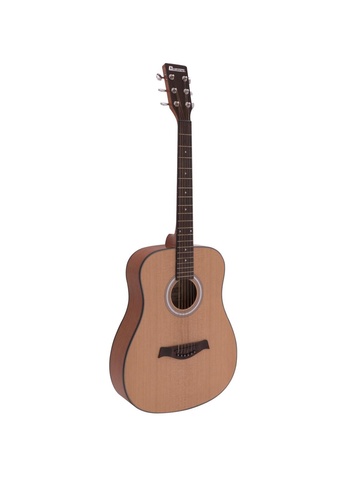 Dimavery AW-380, akustická kytara typu Dreadnought, přírodní