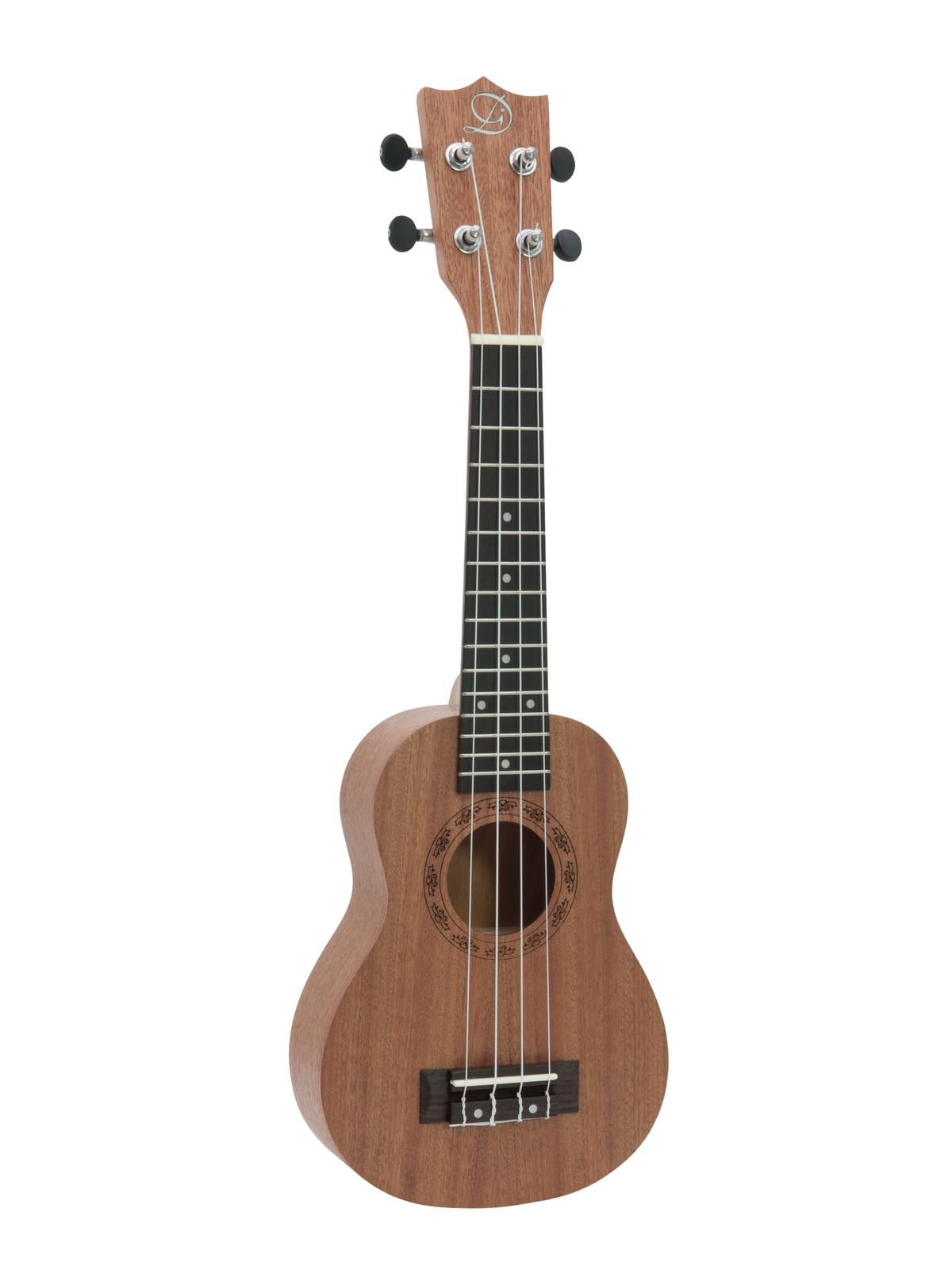 Dimavery UK-400, sopránové ukulele, hnědá