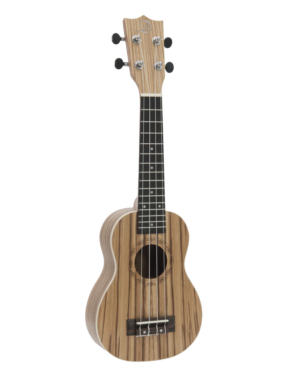 Dimavery UK-400, sopránové ukulele, přírodní