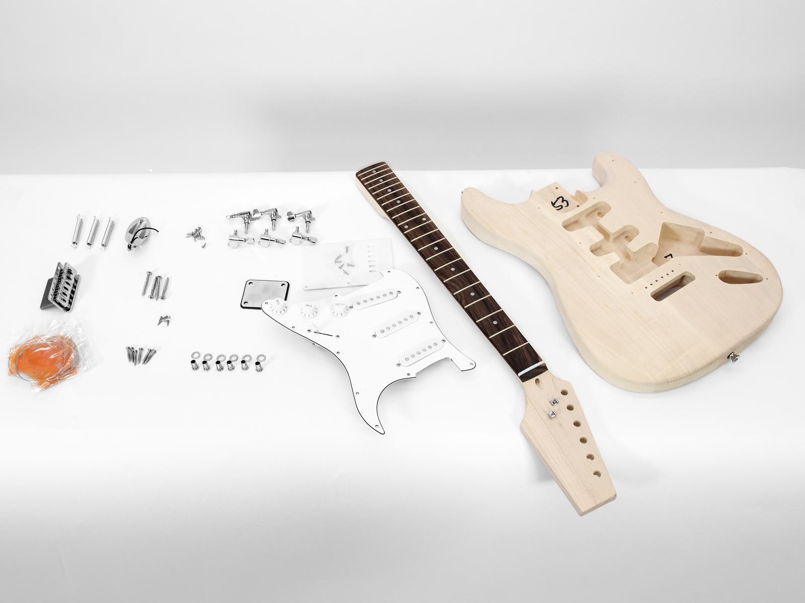 Dimavery DIY ST-10 Guitar construction kit