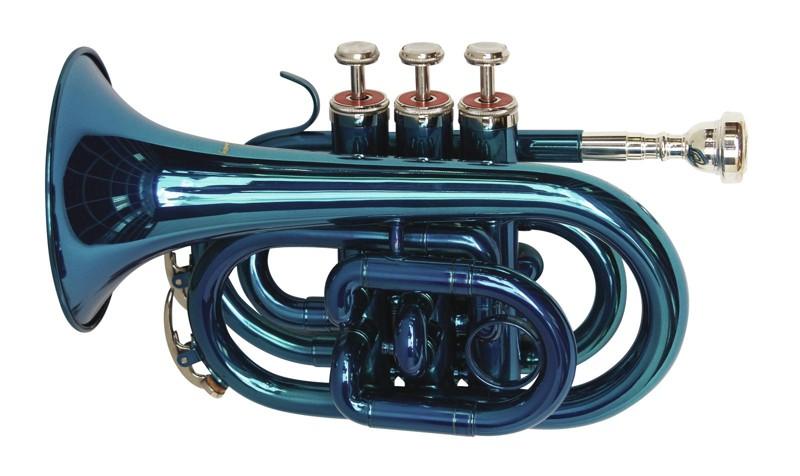 Dimavery TP-300 B trubka kapesní, modrá