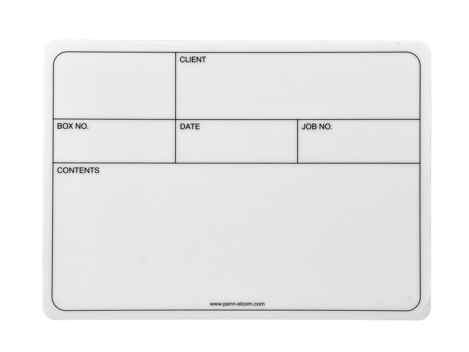 Accessory samolepcí štítek 130x85mm