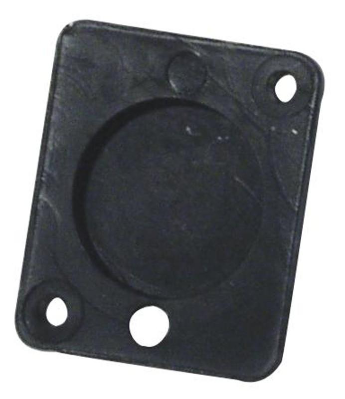 Zaslepovací zátka  pro XLR, univerzální, černá
