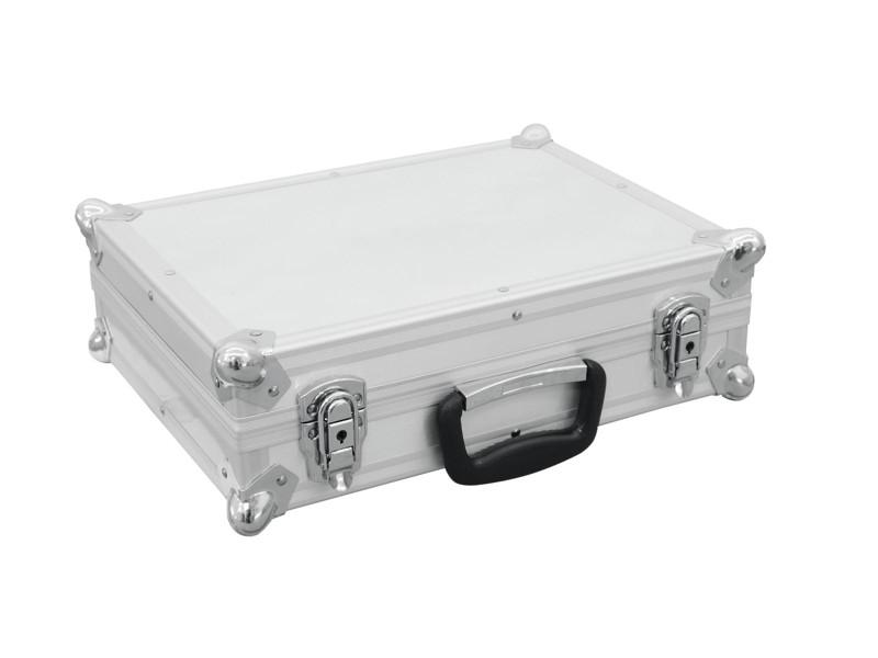 Mikrofonní kufr Pro 7, stříbrný