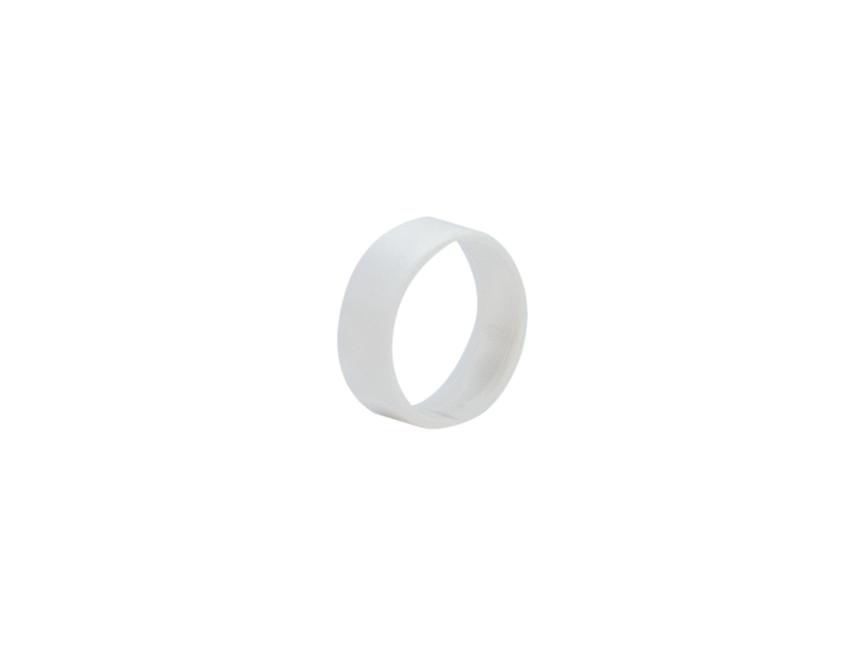 Hicon HI-XC marking ring for Hicon XLR straight white