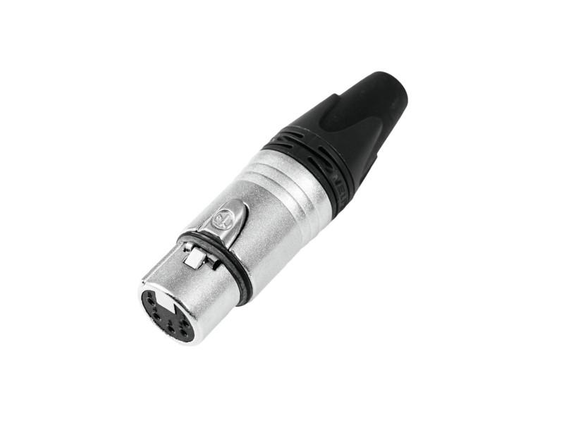 Neutrik XLR socket 5pin NC5FXX