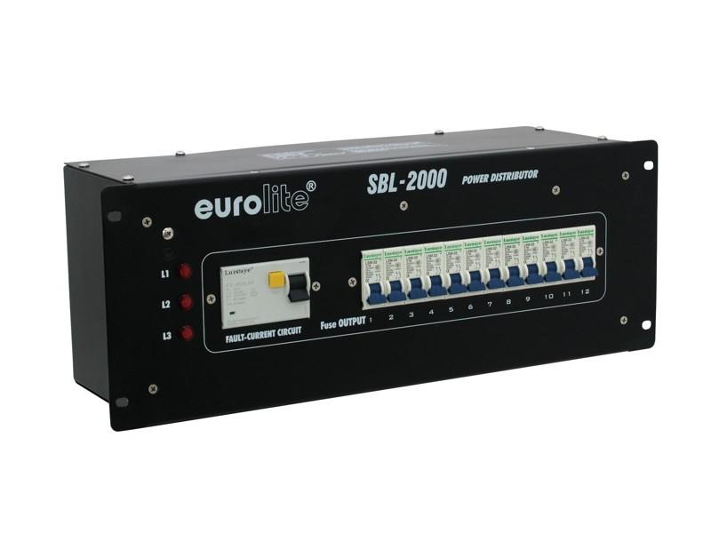 "Eurolite SBL-2000, 19"" rozdělovač, 32 A"