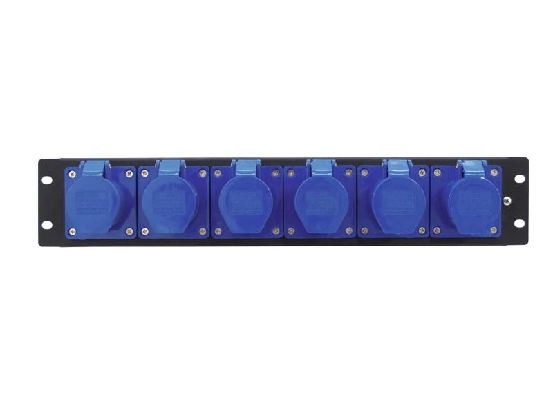 Eurolite PDM 3U-6CEE, rozdělovačový modul, 16 A/3 póly