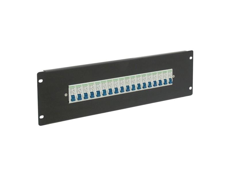 Eurolite PDM 3U-18x16A, FB, rozdělovačový modul