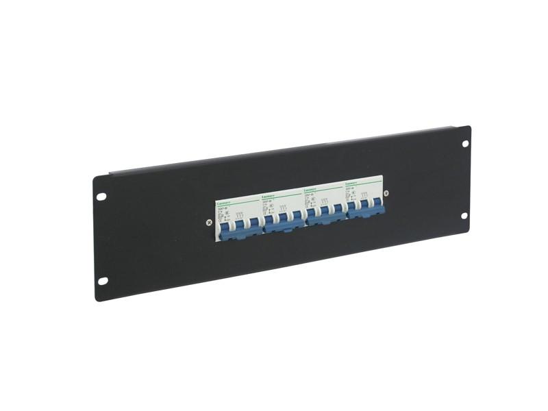 Eurolite PDM 3U-4x16A, FB, 3 póly, rozdělovačový modul