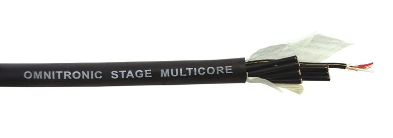 Kabel multicore symetrický 8 párový, role 25m