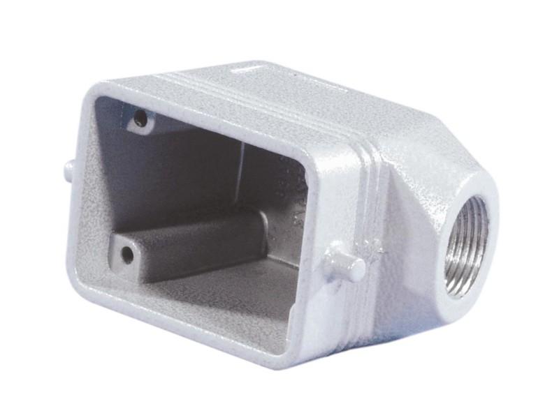 Kryt 6 pólový úhlový na kabel