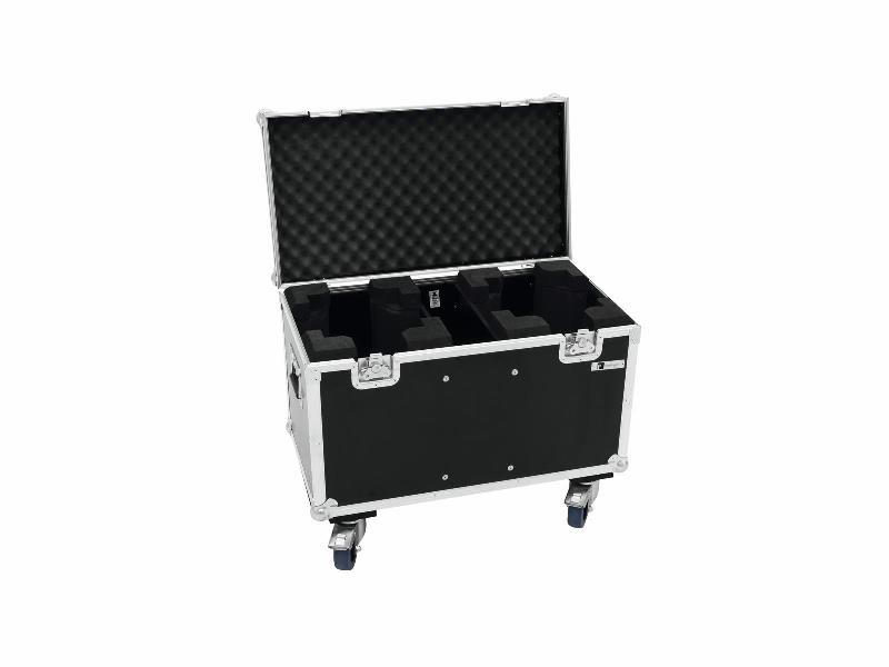 Roadinger Flightcase pro 2x TMH-X5, na kolečkách
