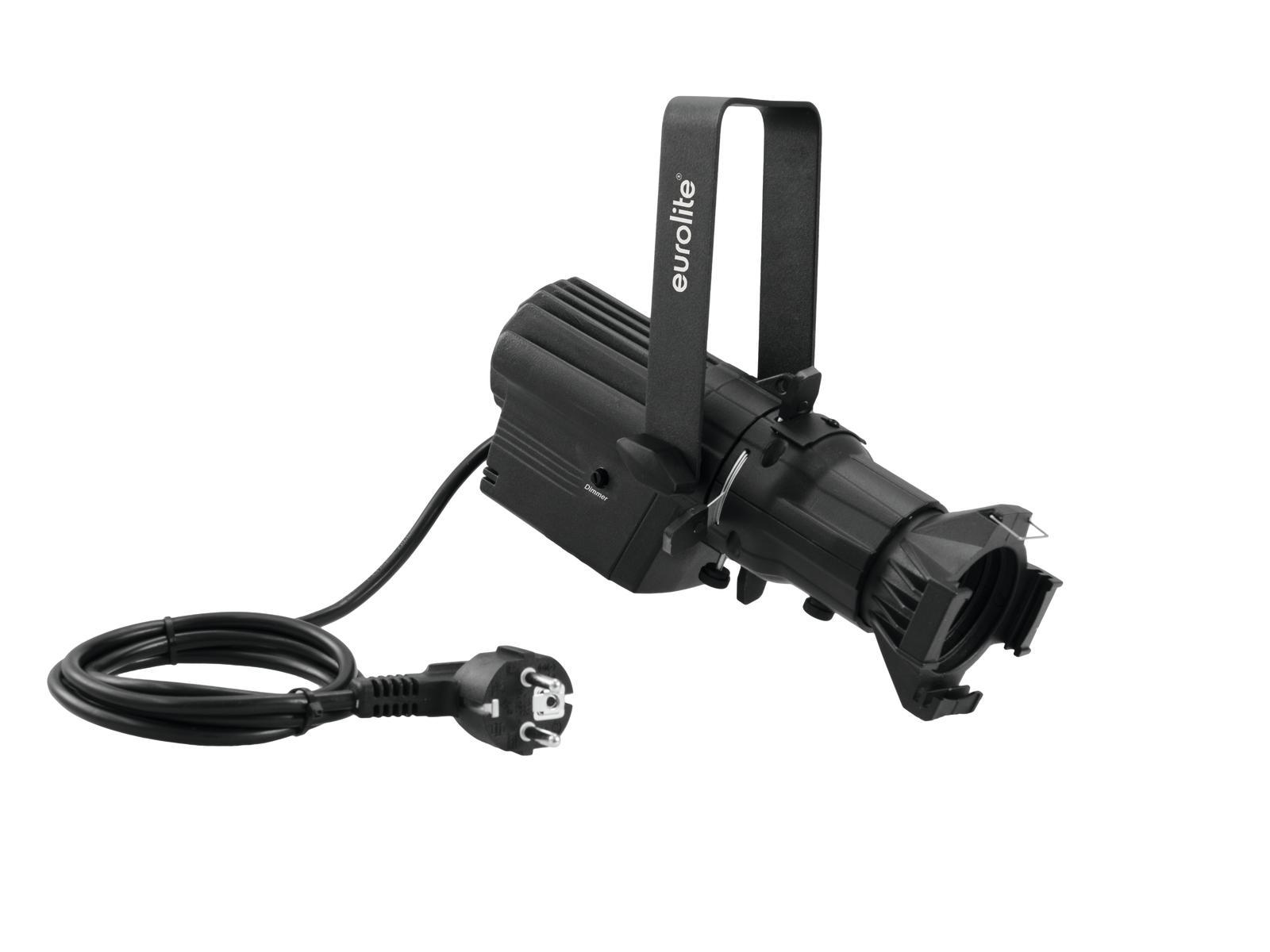 Eurolite LED PFE 1x35W COB 3000K profilové světlo, černé