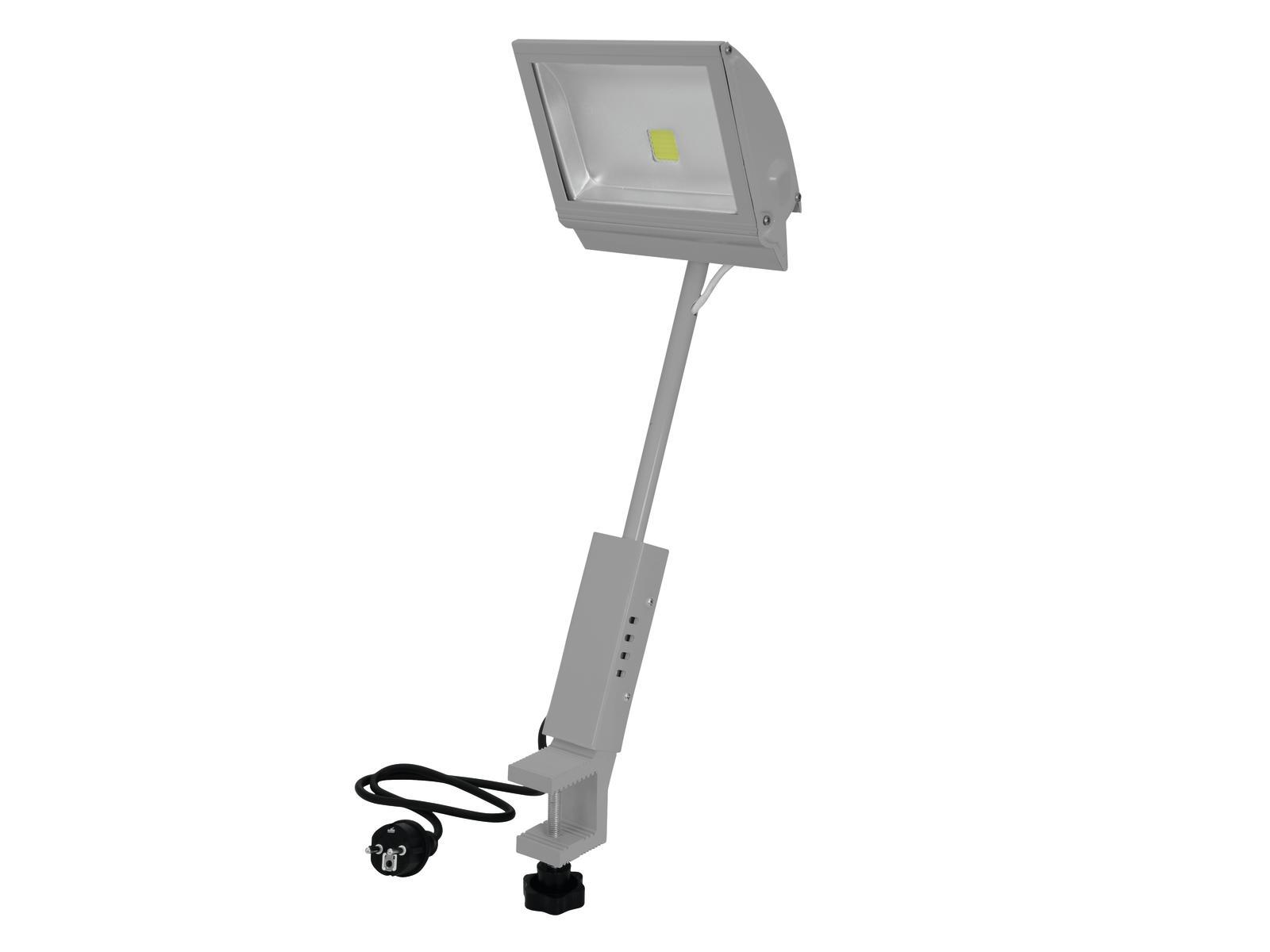Eurolite LED KKL-50 reflektor 4100K, stříbrný