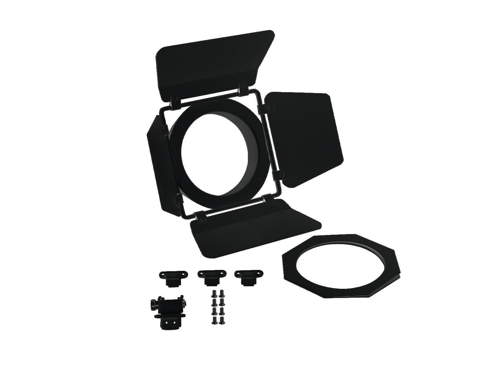 Eurolite LED THA-40/60PC, klapky pro divadelní reflektor, černé