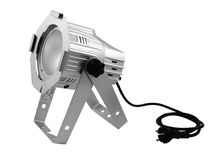 Eurolite LED PAR ML-30 COB 3200K 30W 60°,  střbrný