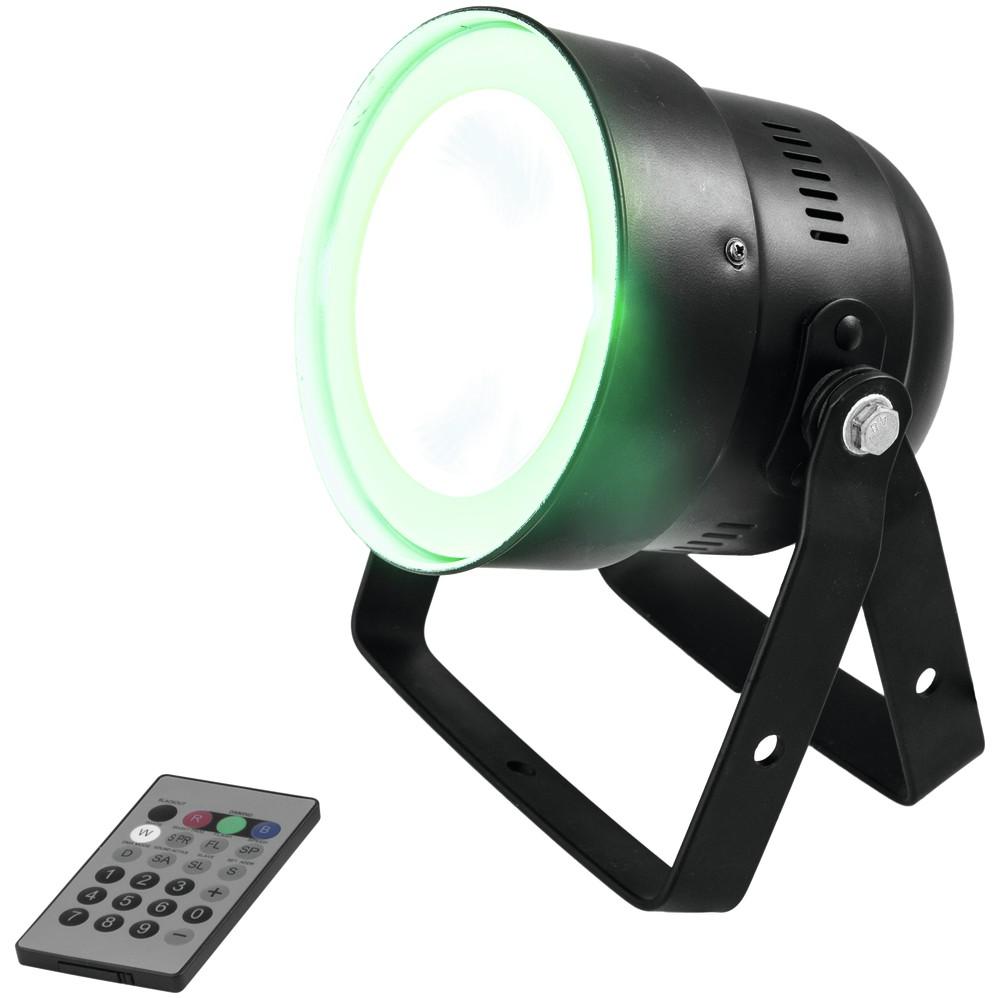 Eurolite LED PAR-56 COB RGB 25W, dálkové ovládání, černý