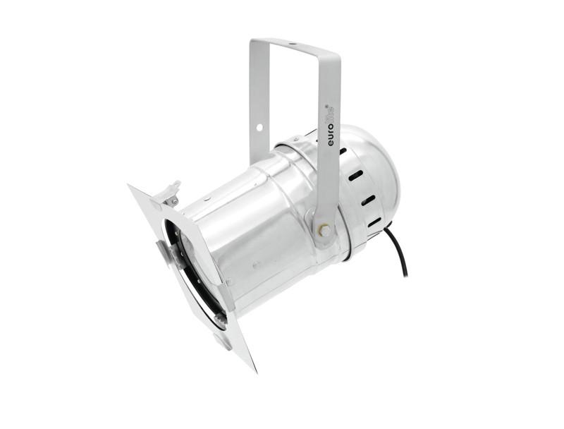 Eurolite LED PAR-56 COB RGB reflektor 60W, stříbrný
