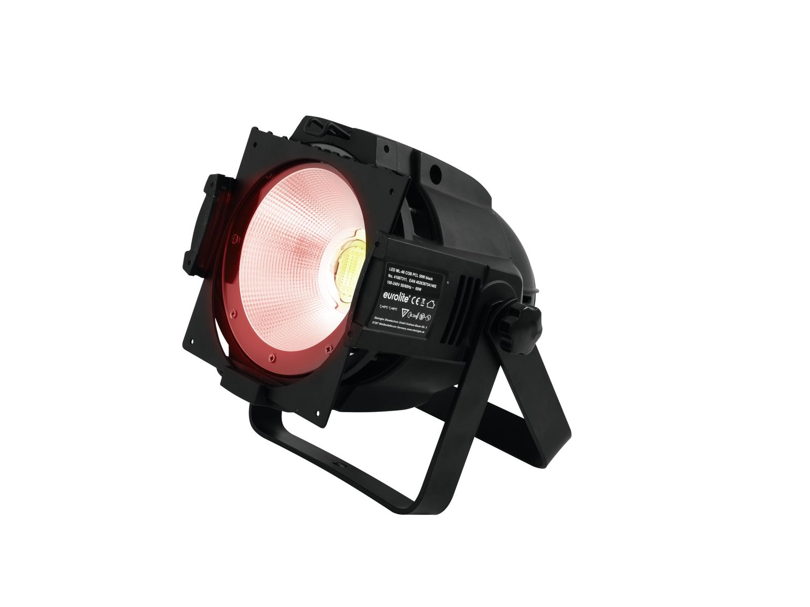 Eurolite LED PAR ML-46 COB RGBAW 50W floor černý