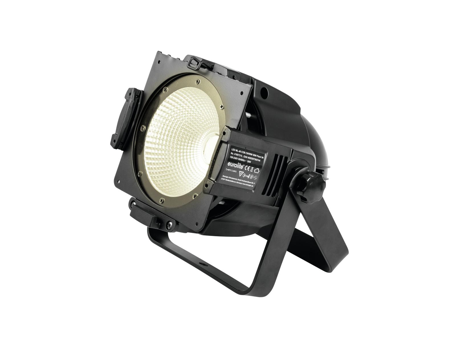 Eurolite LED PAR ML-46 COB reflektor, 50W teplá/studená bílá, DMX,