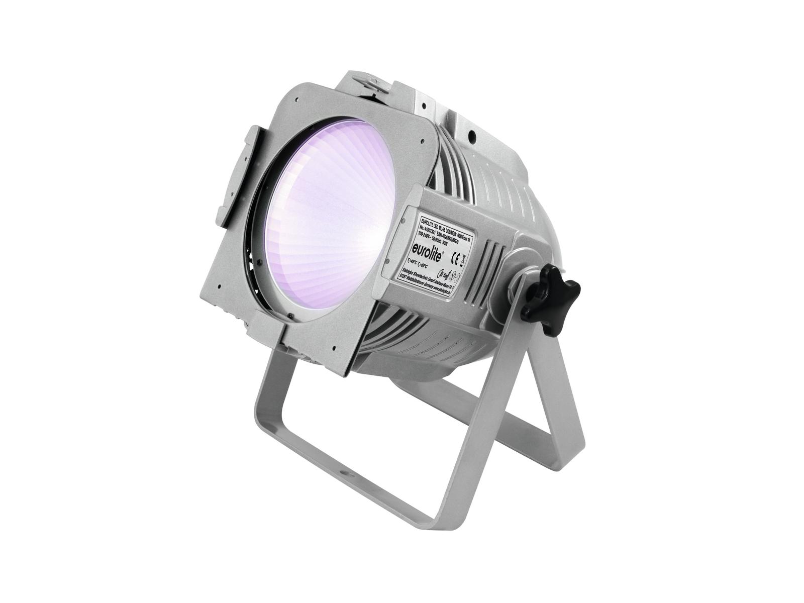Eurolite LED PAR ML-56 COB RGB 100W, DMX, stříbrný