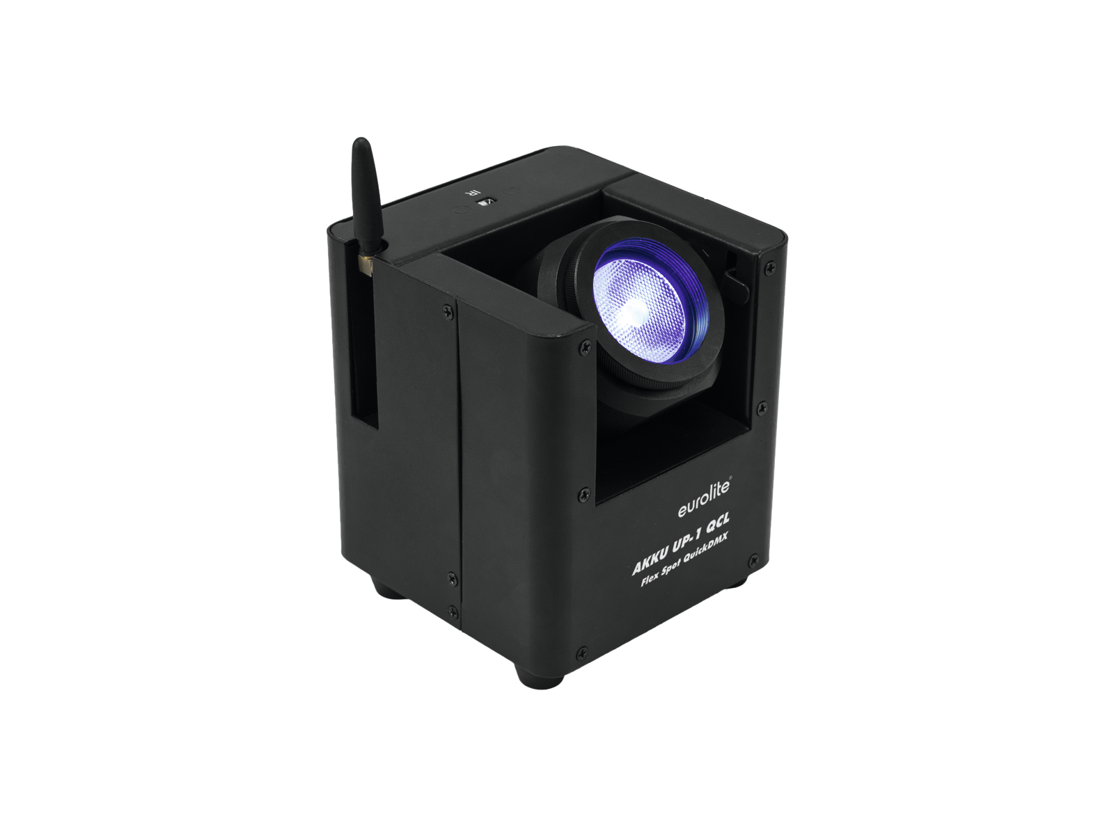 Eurolite LED hlavice AKKU 1x15W QCL QuickDMX, IR, dobíjecí baterie