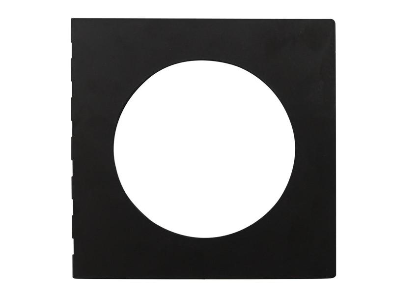 Rámeček pro barevný filtr, černý