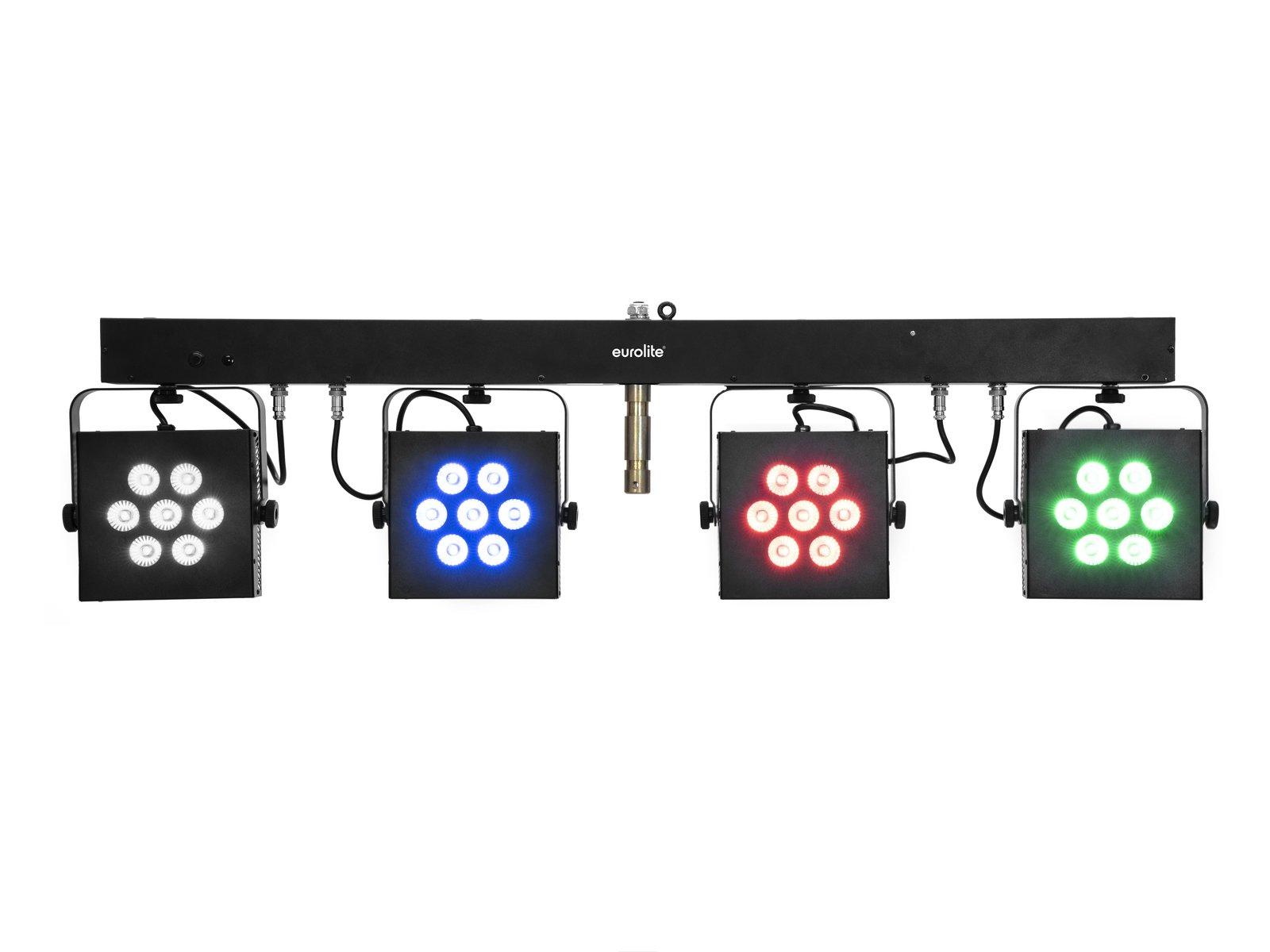Eurolite LED KLS-3002, 28x 10W RGBAW/UV QuickDMX, světelná rampa
