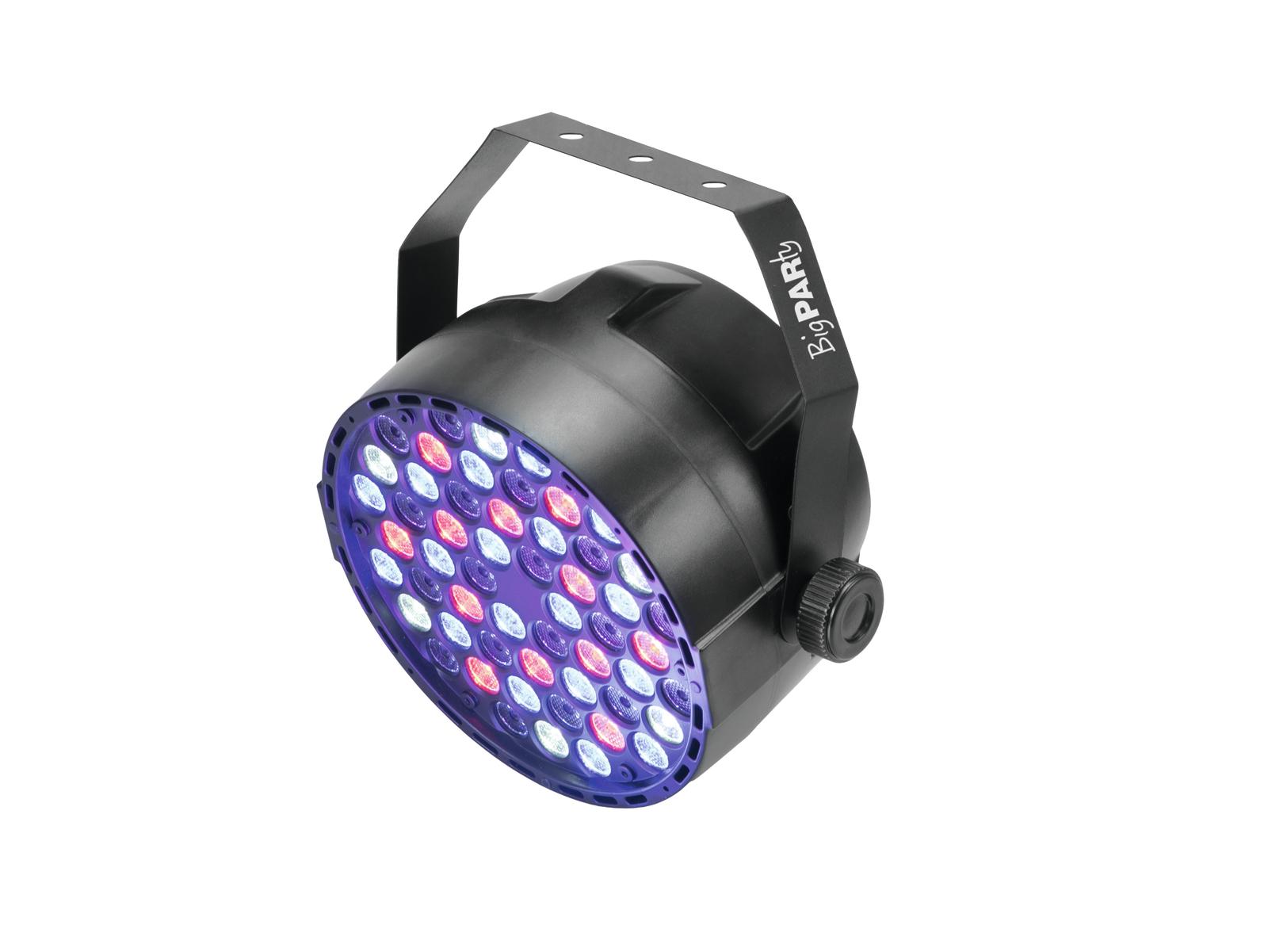 Eurolite LED Big Party Spot, 54x 1W RGBW LED, DMX