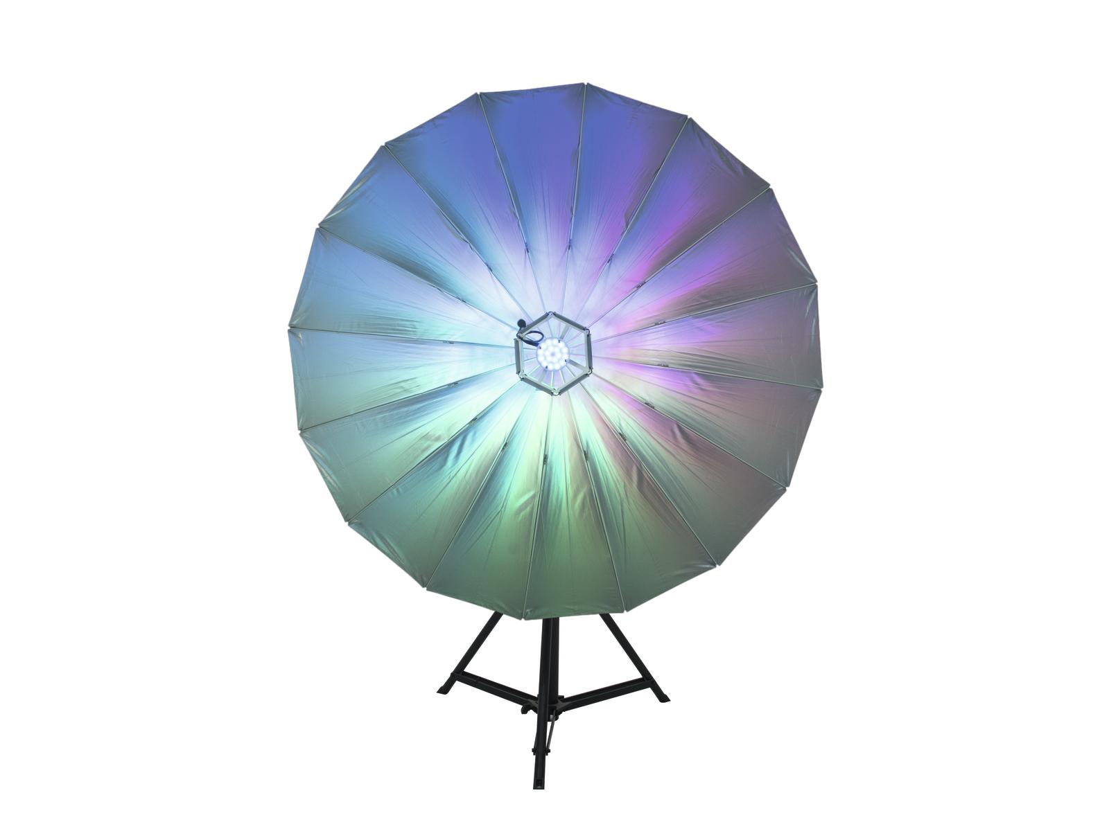 Eurolite LED deštník 140, RGB světelný efekt
