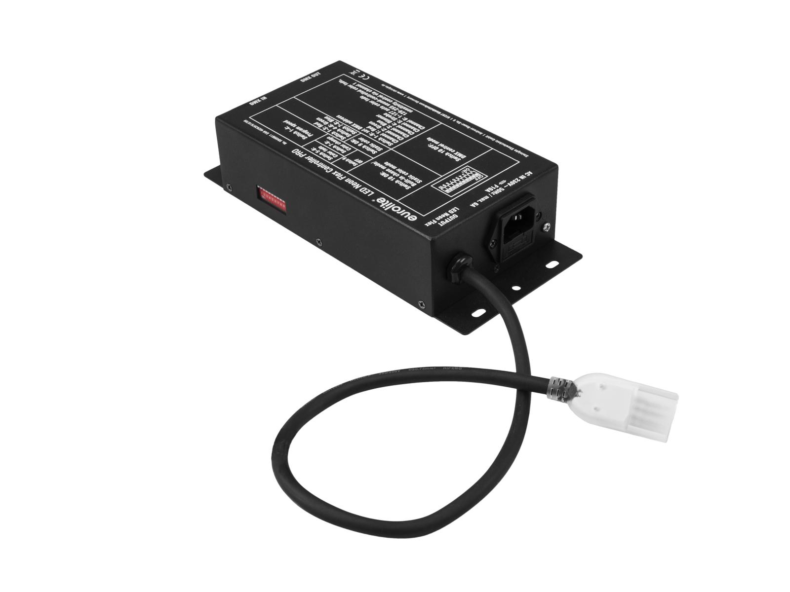Eurolite PRO řídící jednotka DMX pro LED Neon Flex pásky 230V Slim